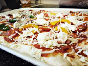 Homemade Pizza Toppings