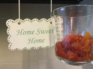 Making Pizza Tomato Base